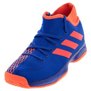 Juniors` Phenom Tennis Shoes Collegiate Royal and Solar Red