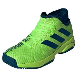 Juniors` Phenom Tennis Shoes Signal Green and Tech Indigo