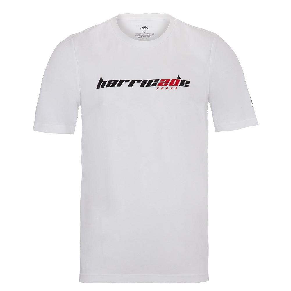 Men's Barricade Tennis Tee White