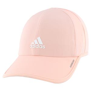 Women`s SuperLite Tennis Cap Haze Coral and White