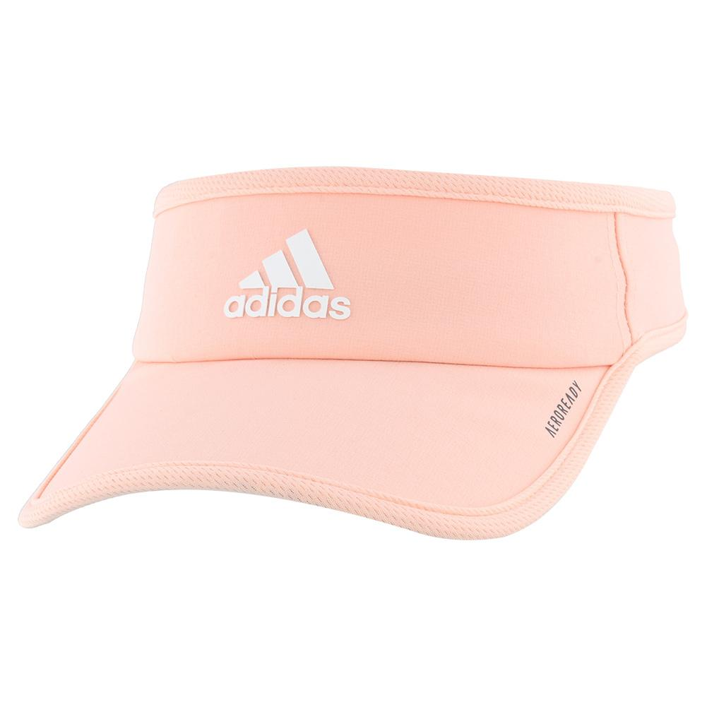 Women's Superlite Tennis Visor Haze Coral And White