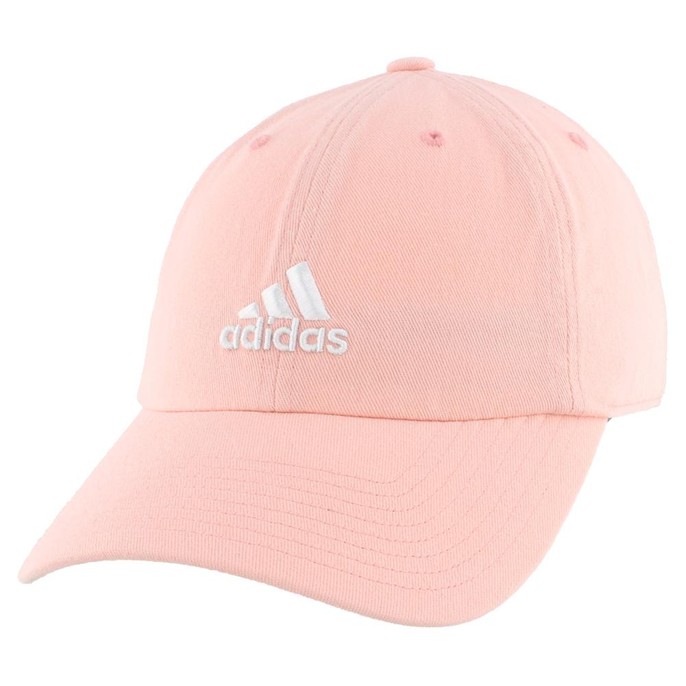 Women's Saturday Tennis Cap Haze Coral And White