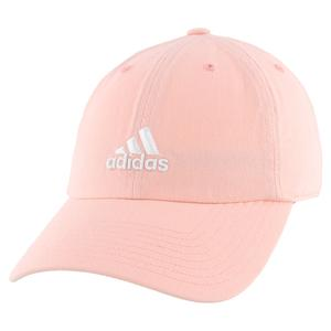Women`s Saturday Tennis Cap Haze Coral and White