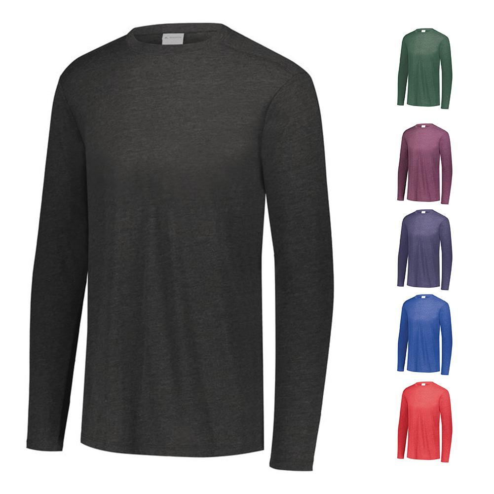Men's Tri- Blend Long Sleeve Crew
