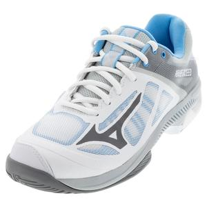 Women`s Wave Exceed SL AC Tennis Shoes Grey and Black