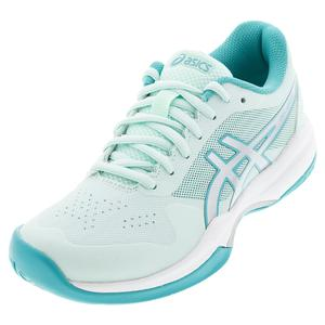 Women`s GEL-Game 7 Tennis Shoes Bio Mint and Pure Silver