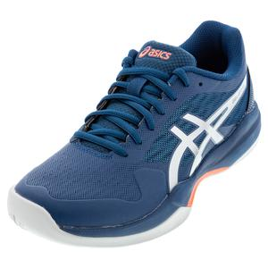 Men`s GEL-Game 7 Tennis Shoes Mako Blue and Pure Silver