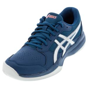 Juniors` GEL-Game 7 GS Tennis Shoes Mako Blue and Pure Silver
