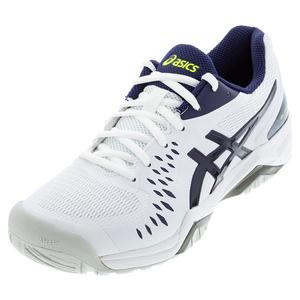 Men`s GEL-Challenger 12 Tennis Shoes White and Peacoat