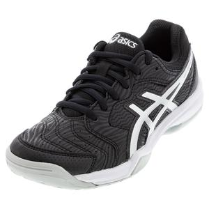 Women`s GEL-Dedicate 6 Tennis Shoes Black and White