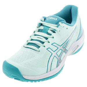 Women`s Court Speed FF Tennis Shoes Bio Mint and Pure SIlver