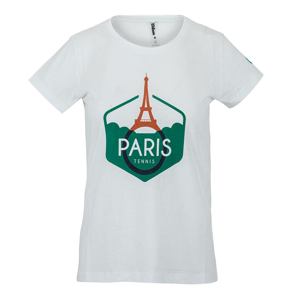 Women's Paris Tech Tennis Tee