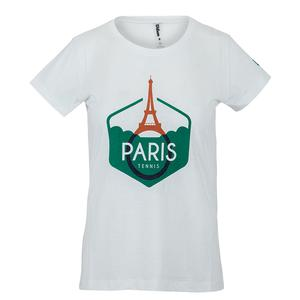 Women`s Paris Tech Tennis Tee