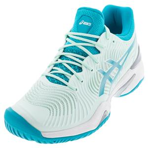Women`s Court FF 2 Tennis Shoes Bio Mint and Lagoon