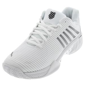 Men`s Hypercourt Express 2 Tennis Shoes White and Black