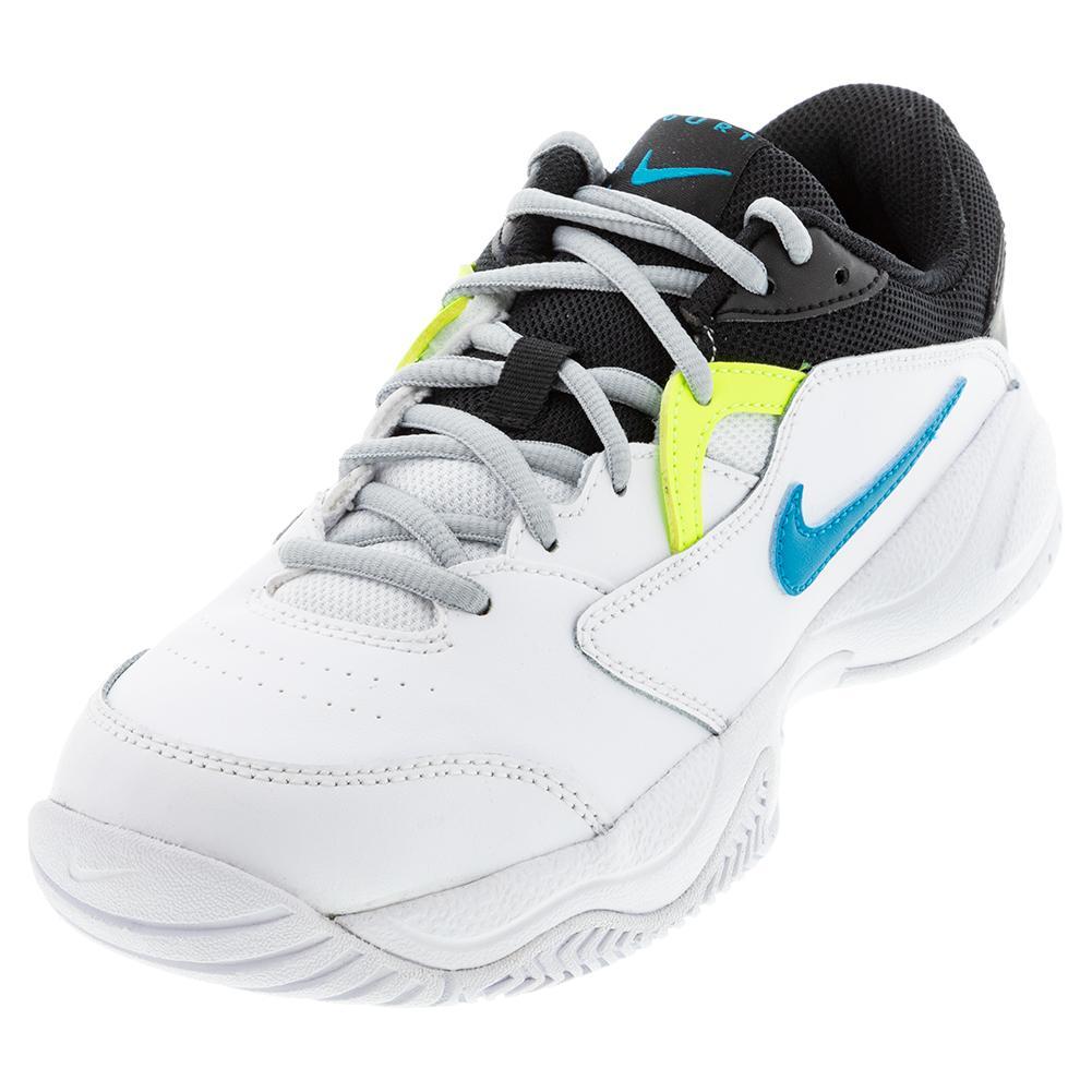 Nike Juniors` Court Lite 2 Tennis Shoes