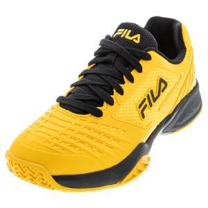 Men`s Axilus 2 Energized Tennis Shoes Gold Fusion and Black