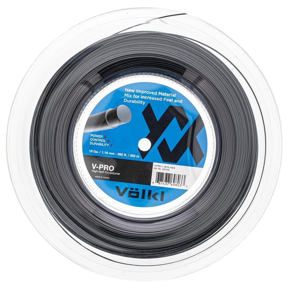 V- Pro Tennis String Reel Black