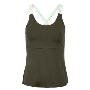 Women`s Criss Cross Tennis Tank