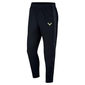 Men`s Rafa Court Tennis Pant Black and Volt