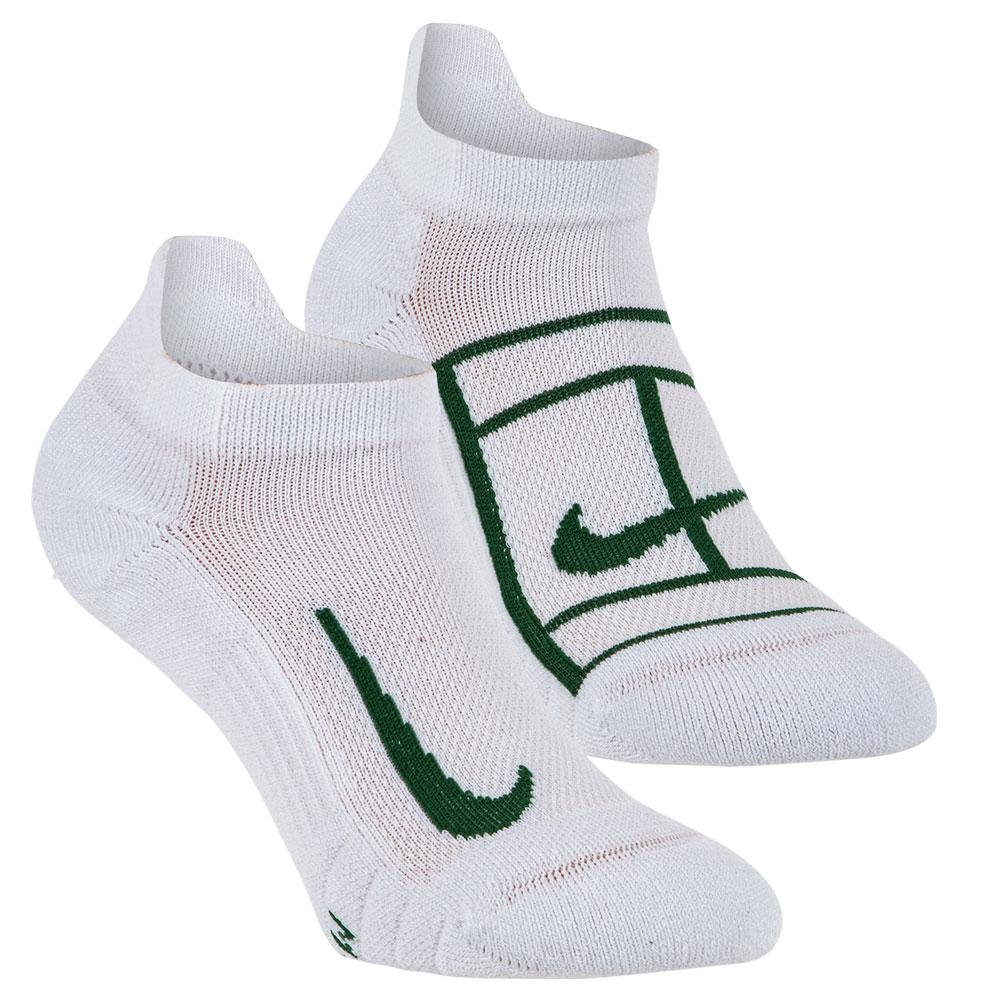 Court Multiplier Max Tennis No- Show Socks (2 Pairs)