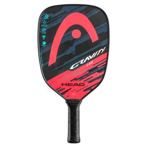 Gravity Lite Pickleball Paddle Teal and Crimson