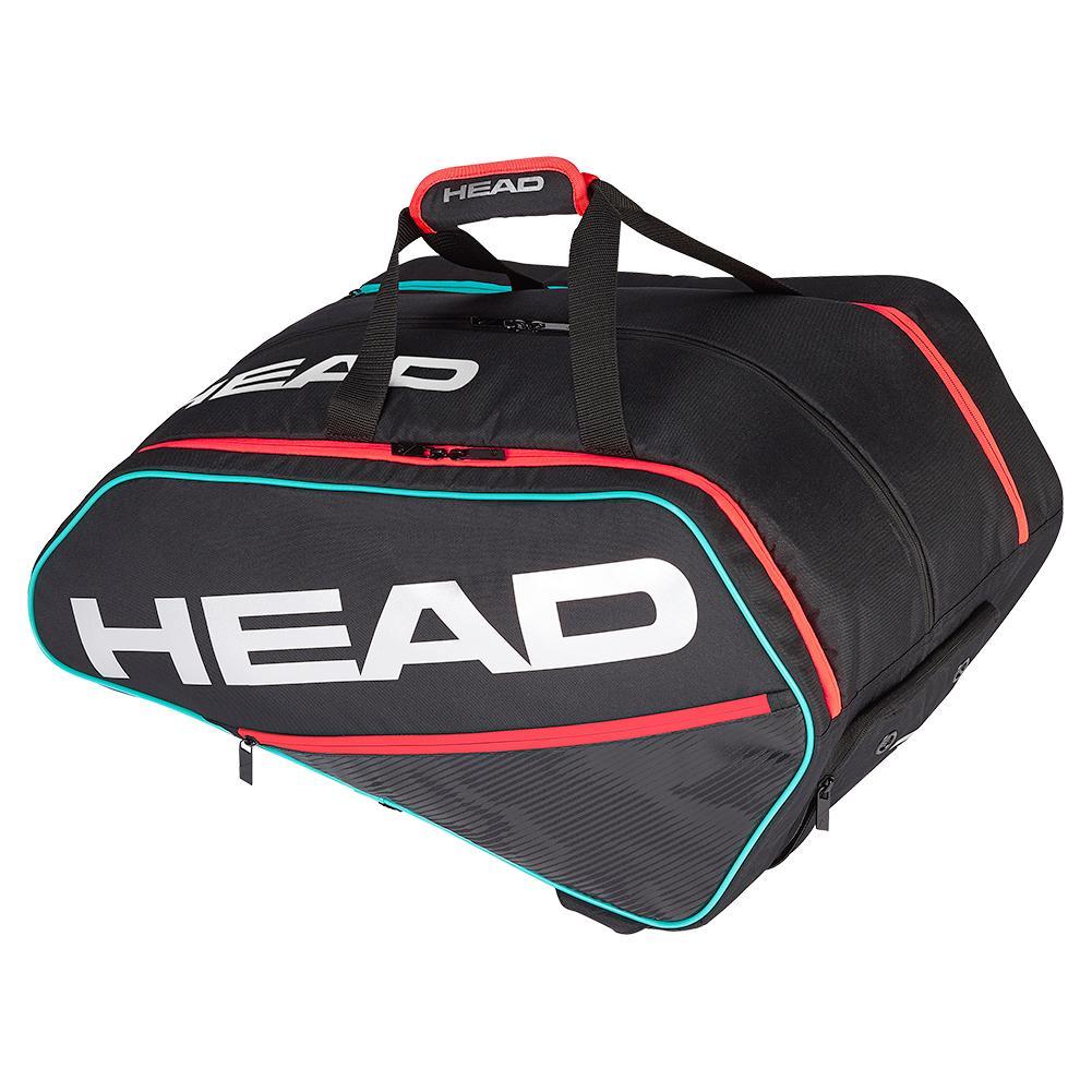 Tour Supercombi Pickleball Bag Black And Teal