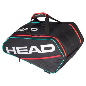 Tour Supercombi Pickleball Bag Black and Teal