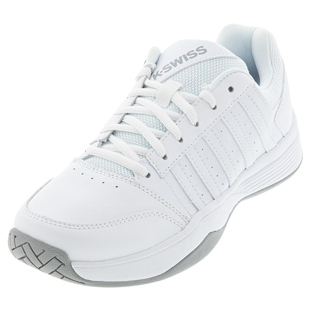 Women's Court Smash 2 Tennis Shoes White And Highrise