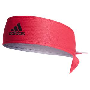 Reversible Tennis Tieband Power Pink and Glory Gray