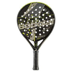 Defiance Carbon Padel Racket Black and Champain