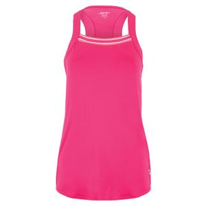 Women`s Square Neck Rib Tennis Tank