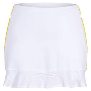 Women`s Iris 14.5 Inch Tennis Skort Chalk