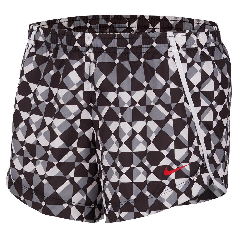 Girls ` Dri- Fit Printed Training Shorts