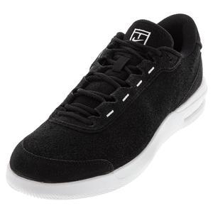 Men`s Court Air Max Vapor Wing Premium Tennis Shoes Black