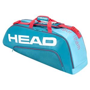 Tour Team 6R Combi Tennis Bag Blue and Pink