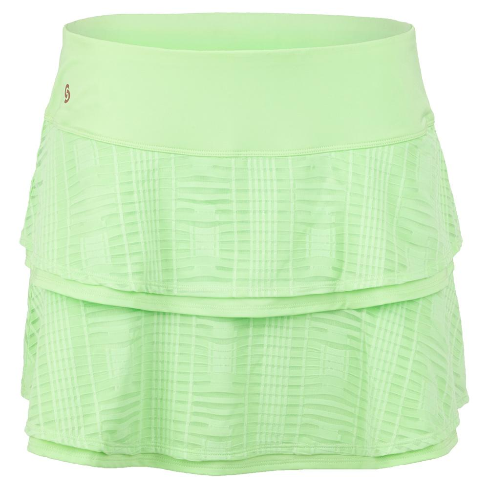 Women's Lime Light Tennis Skort Melon