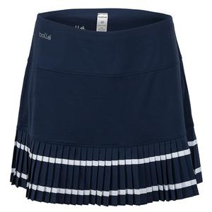 Women`s High Society Tennis Skort Navy