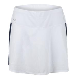 Women`s High Society Tennis Skort White