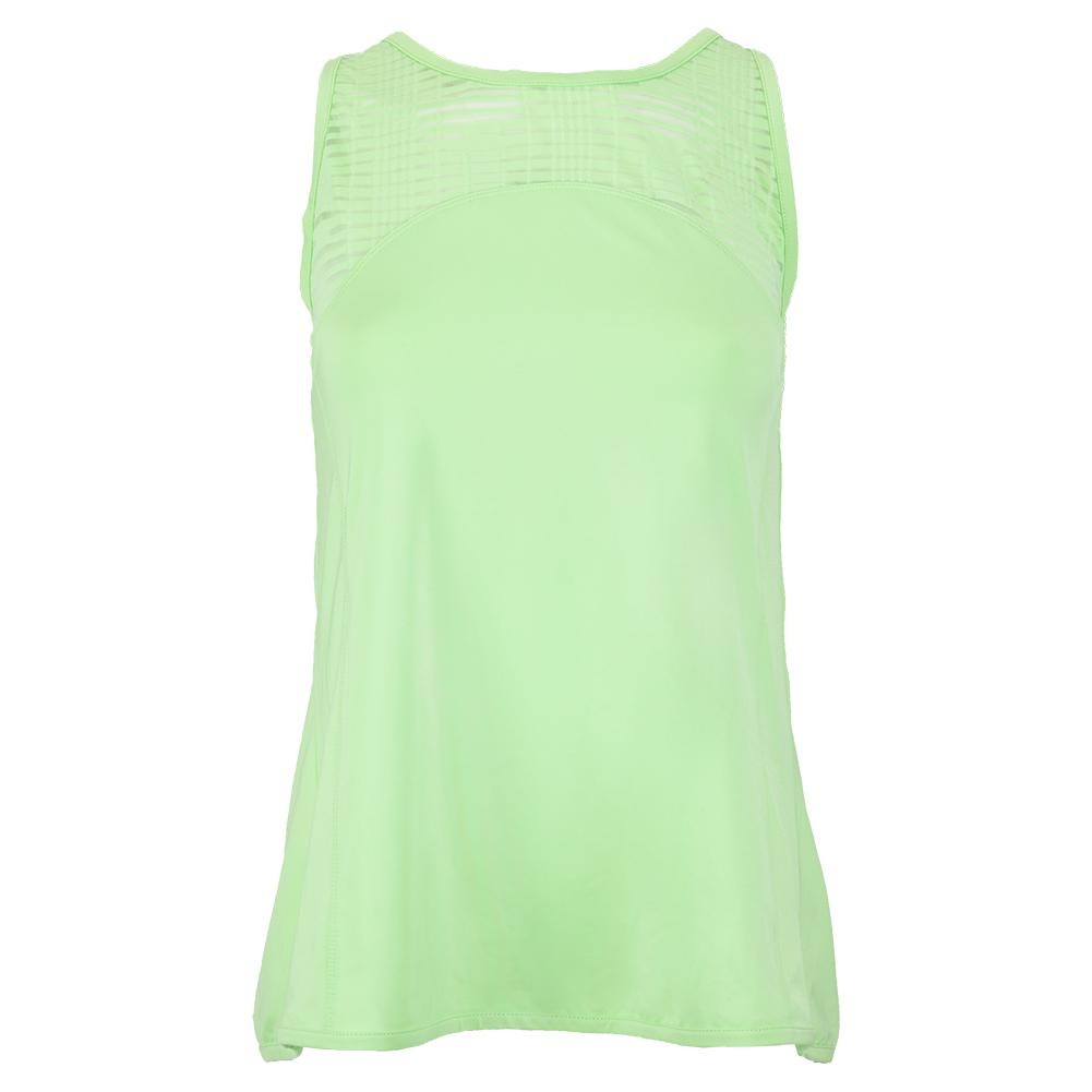 Women's Lime Light Tennis Tank Melon