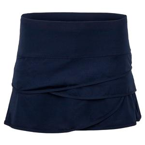 Women`s Scallop Tennis Skort Midnight