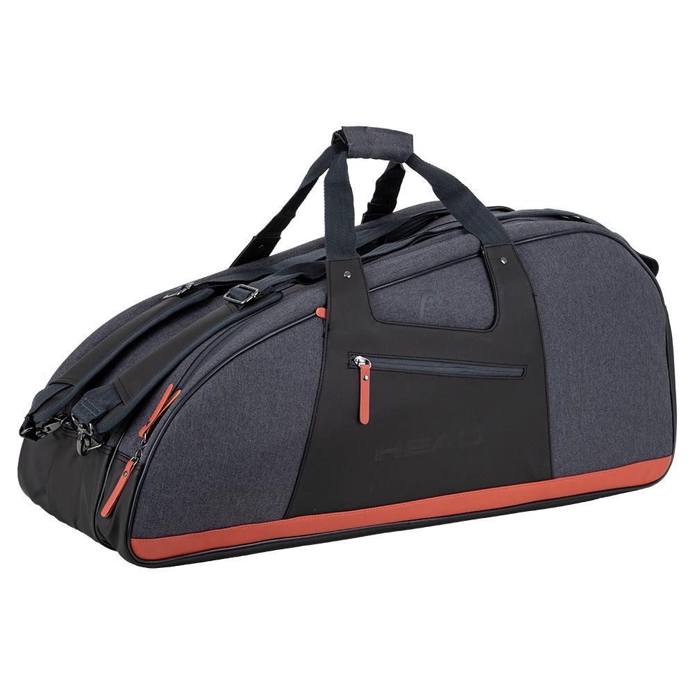 Women's Combi Tennis Bag Anthracite