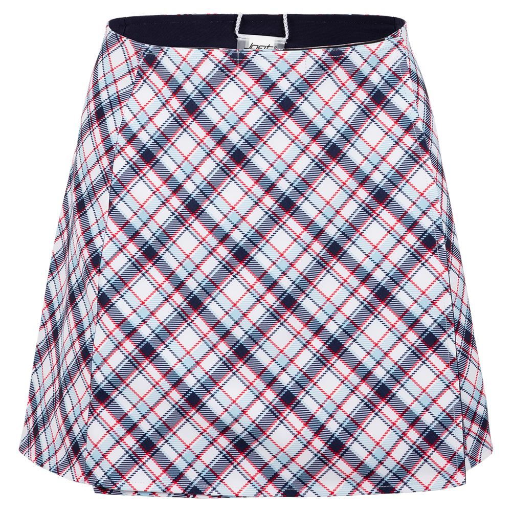 Women's Printed Wrap Tennis Skirt Cape May Tartan