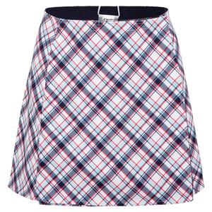 Women`s Printed Wrap Tennis Skirt Cape May Tartan