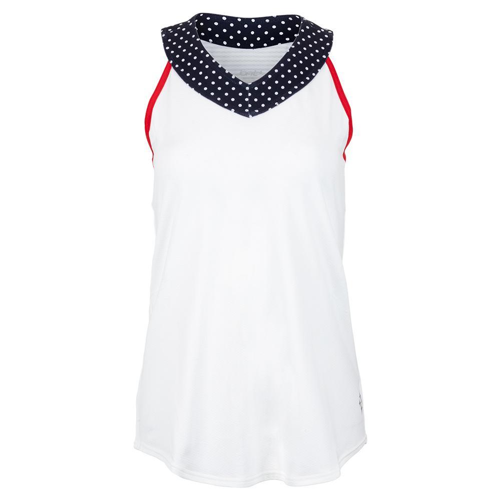 Women's Love Tennis Tank White