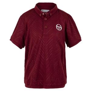Boys` Chevron Tennis Polo