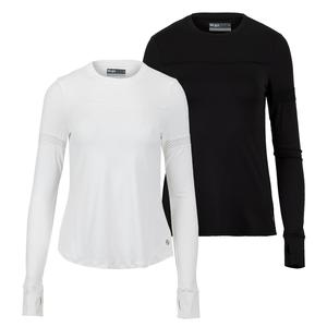Women`s Pacer Long Sleeve Tennis Top