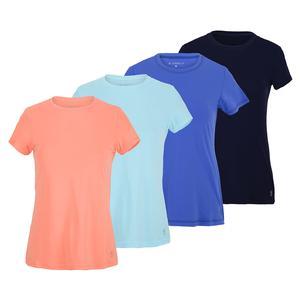 Women`s UV Short Sleeve Tennis Top