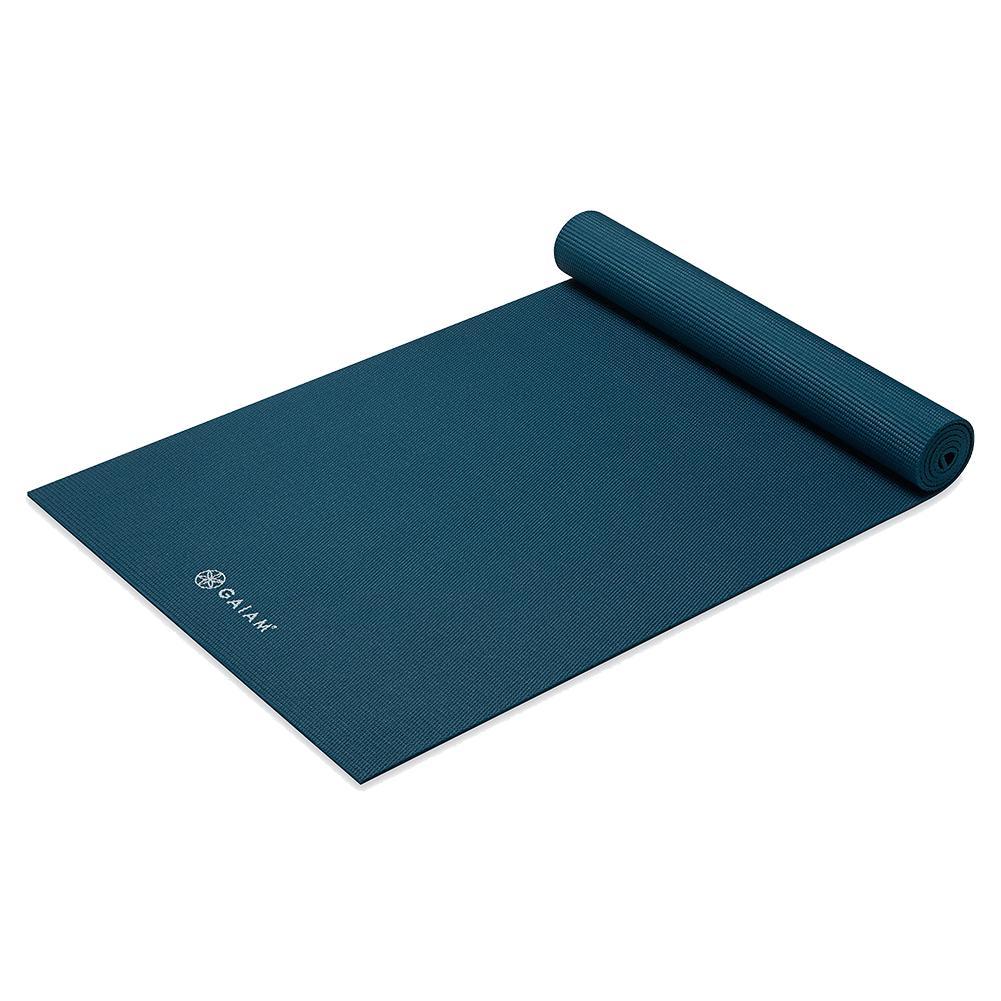 Classic Solid Color Yoga Mat (5mm) Marine