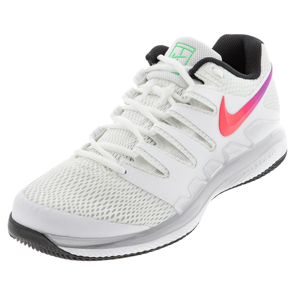 Nike Women S Air Zoom Vapor X Tennis Shoes Summit White And Black Tennis Express Aa8027 112